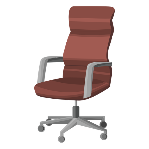 Swivel office chair clipart Transparent PNG