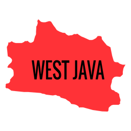 West java province map