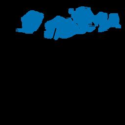 Mapa da província de West nusa tenggara