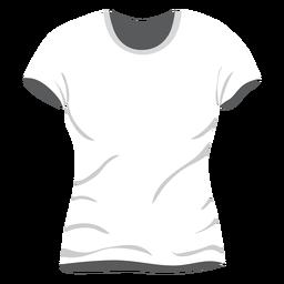 Icono de camiseta de hombre blanco
