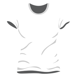 White men t shirt icon