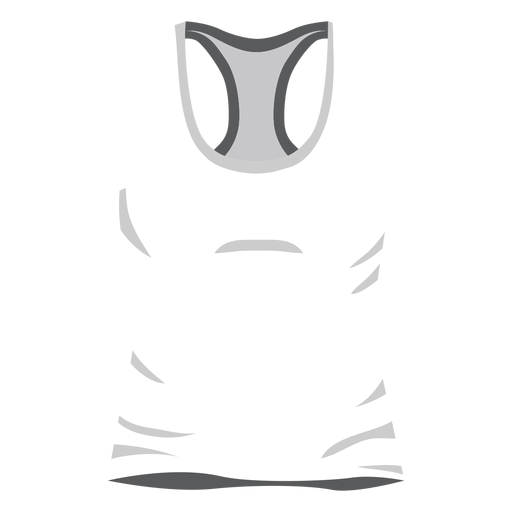 White men tank top icon Transparent PNG