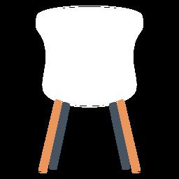 Silla de oficina blanca clipart