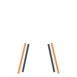 White office chair clipart
