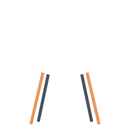 White office chair clipart Transparent PNG