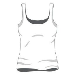White women tank top icon