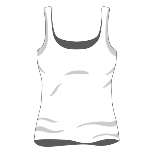 White women tank top icon Transparent PNG