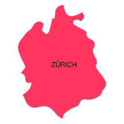 Zurich canton map