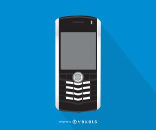 Ilustración de smartphone Blackberry Pearl