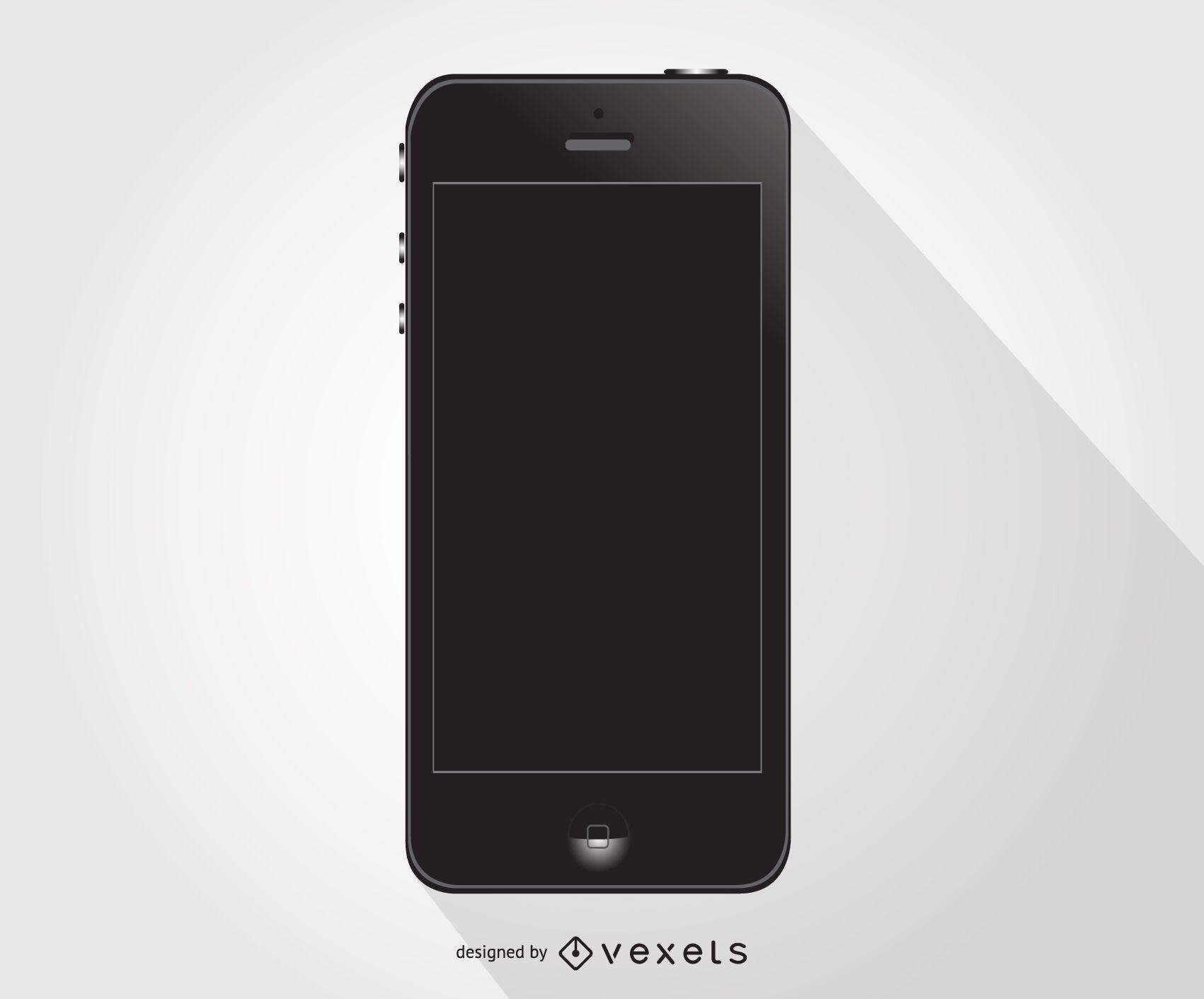 Iphone smartphone black