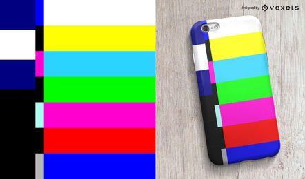 Design do caso do telefone final do programa