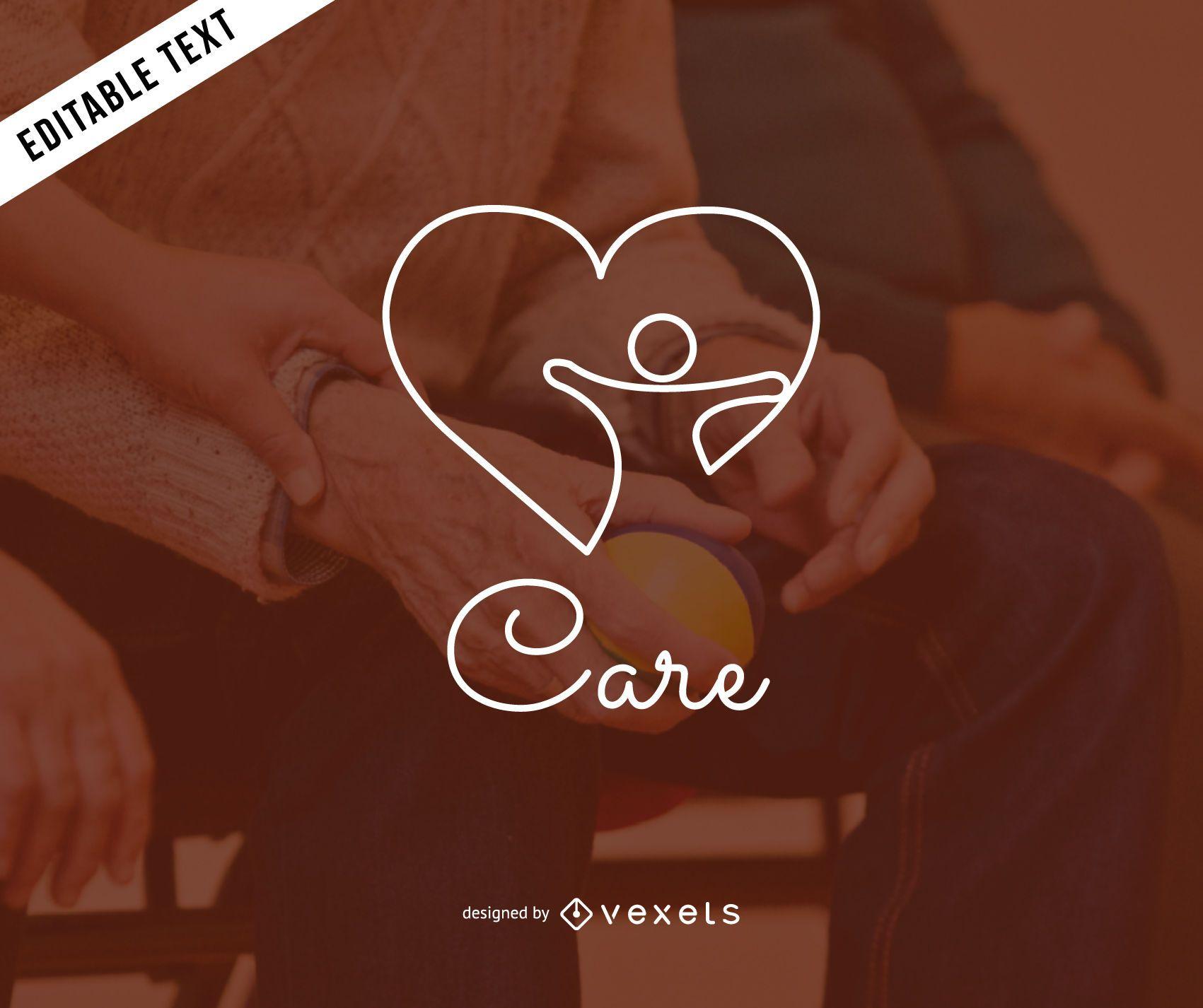 Diseño de logotipo de salud