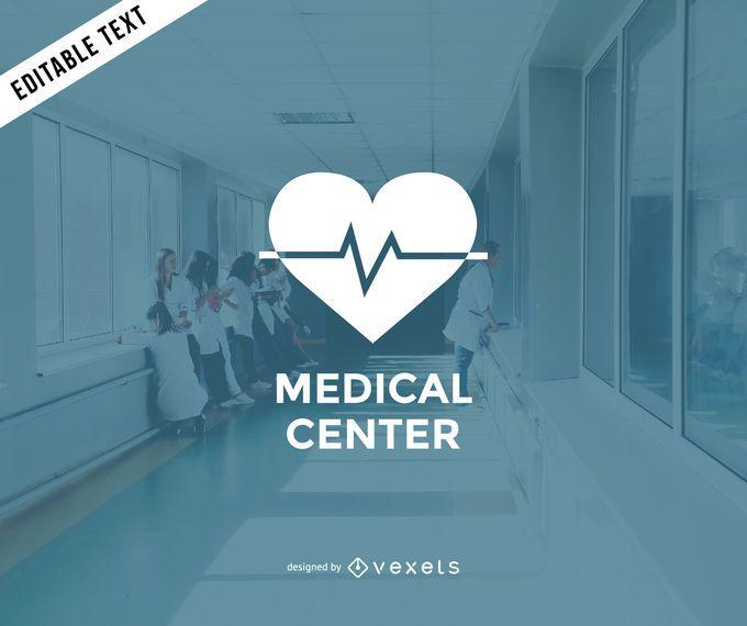 Design do logotipo do centro médico