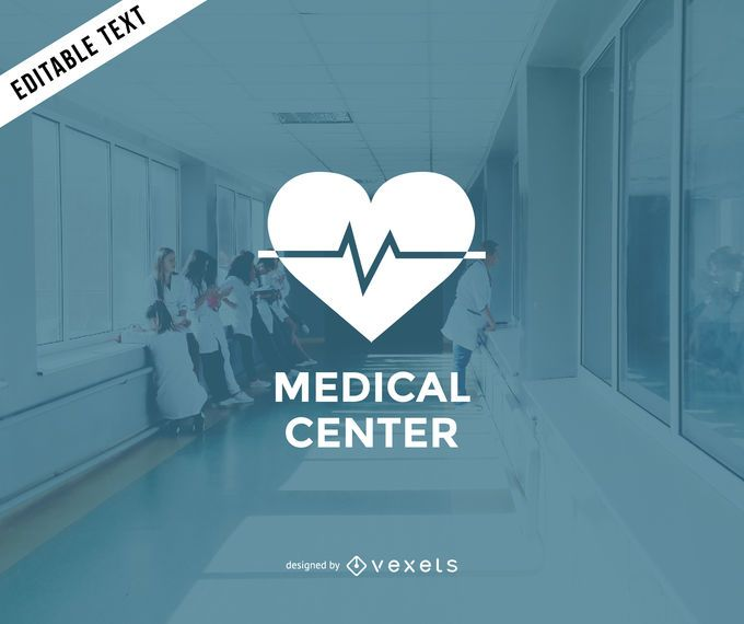Diseño del logotipo del centro médico.