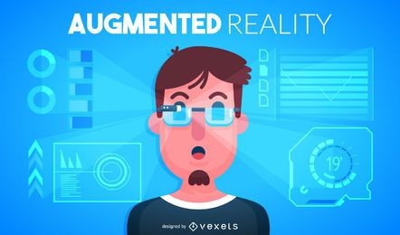 Augmented reality illustration
