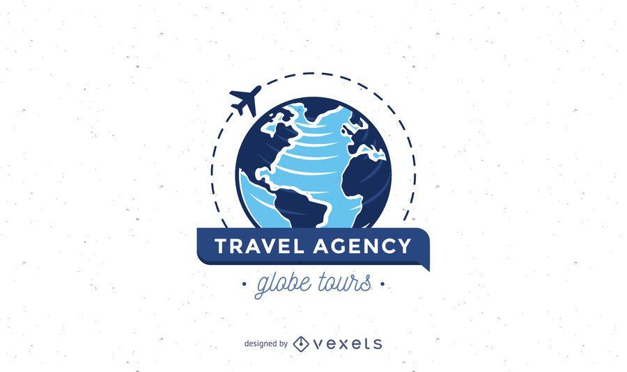 Reisebüro-Logo-Vorlage
