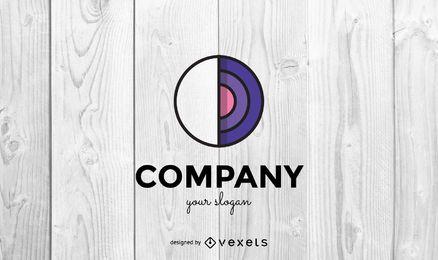 Modelo de design de logotipo da empresa