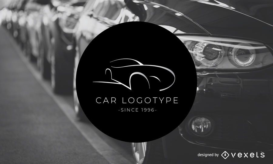 Car logotype logo template