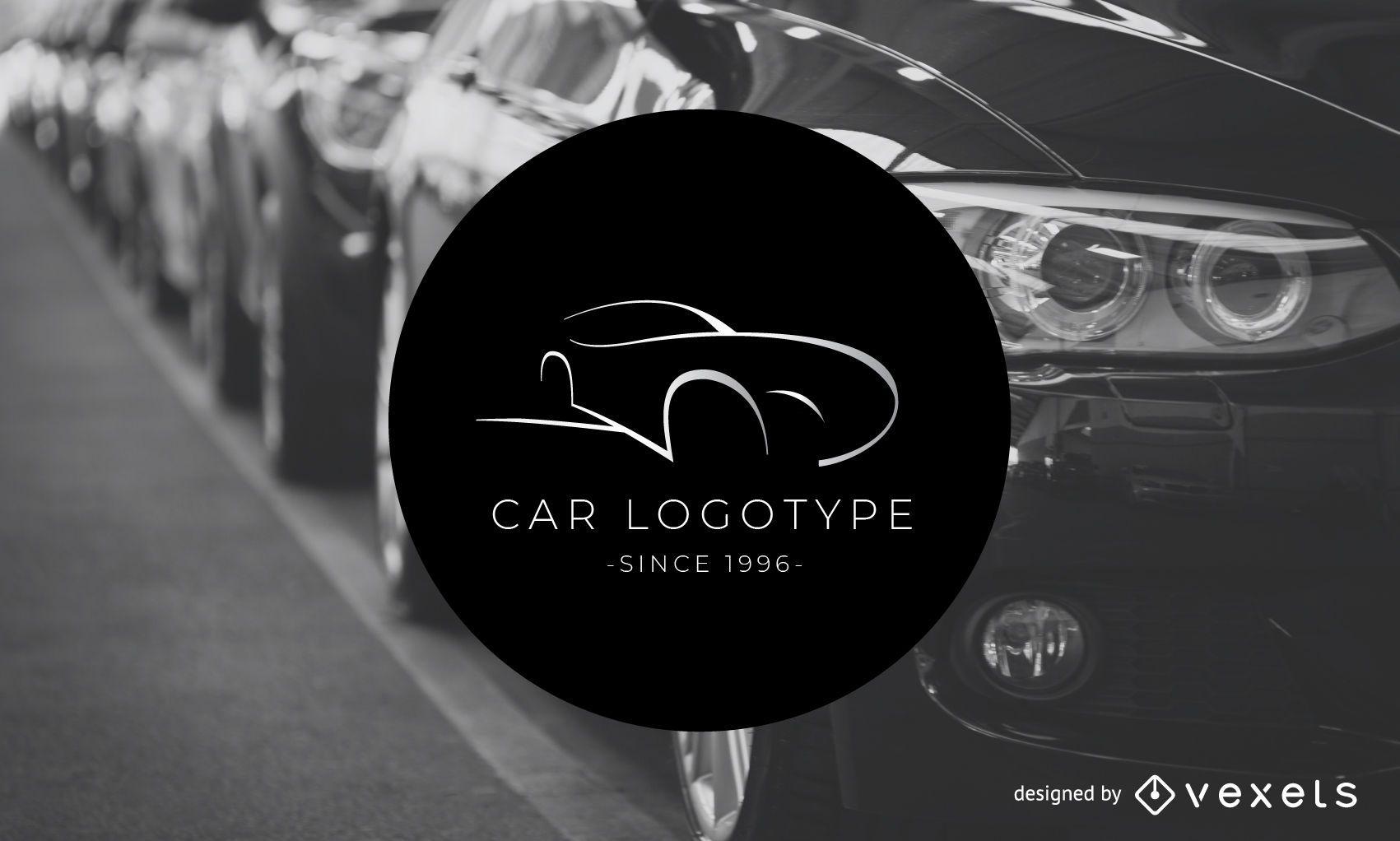 Plantilla de logotipo de logotipo de coche - Descargar vector