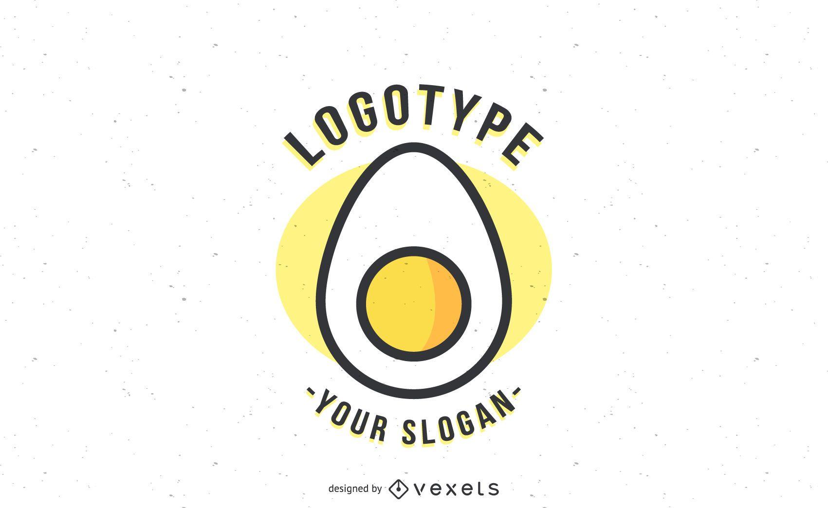 Logotipo de plantilla de logotipo de huevo - Descargar vector