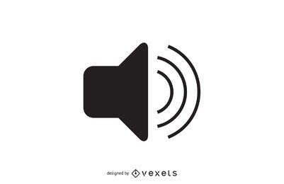 Einfaches Lautstärkesymbol