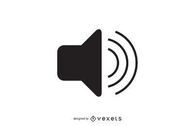 Simple audio volume icon