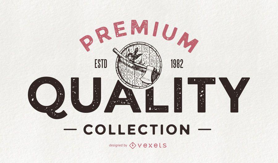 Colección retro de calidad premium