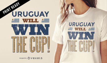 Uruguay will win t-shirt design