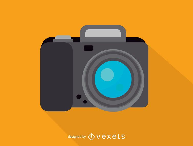 Icono de cámara de fotos digital