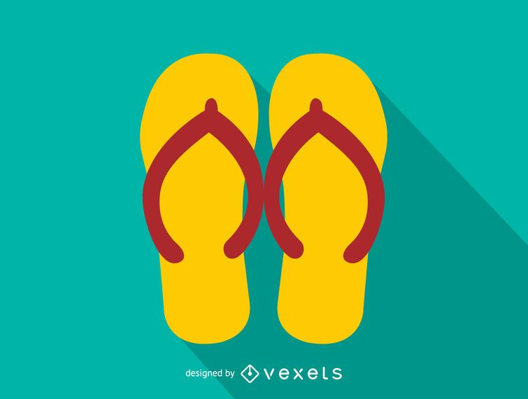 3a141121e623 Flip-flops icon. Download Large Image