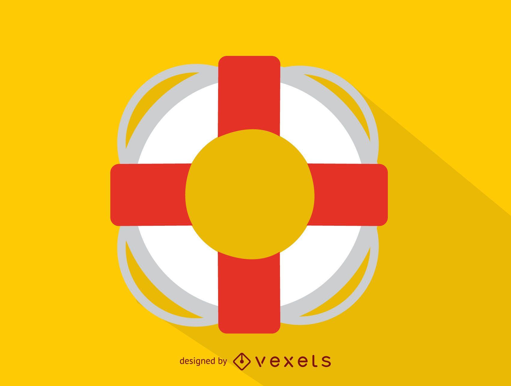 Ícone de bóia salva-vidas