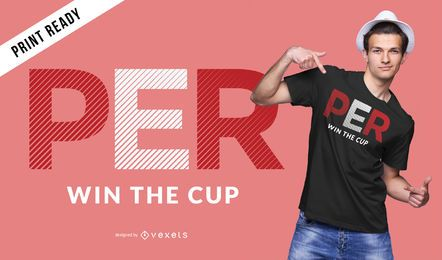 Peru world cup t-shirt design