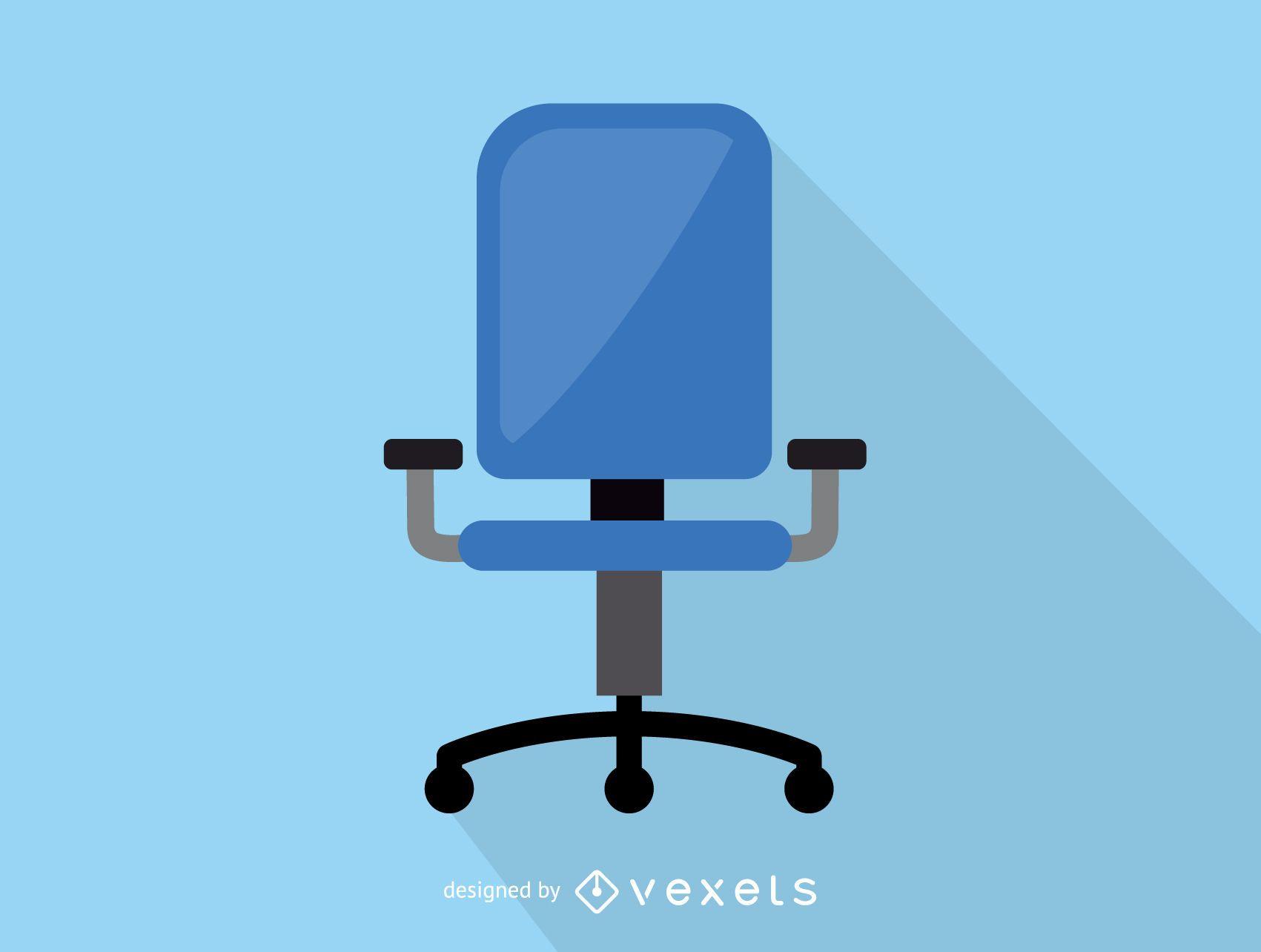 Icono de silla de oficina