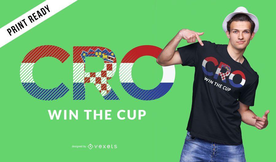 Croatia world cup t-shirt design