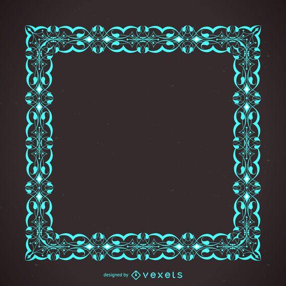 Eleganter moderner Rahmen