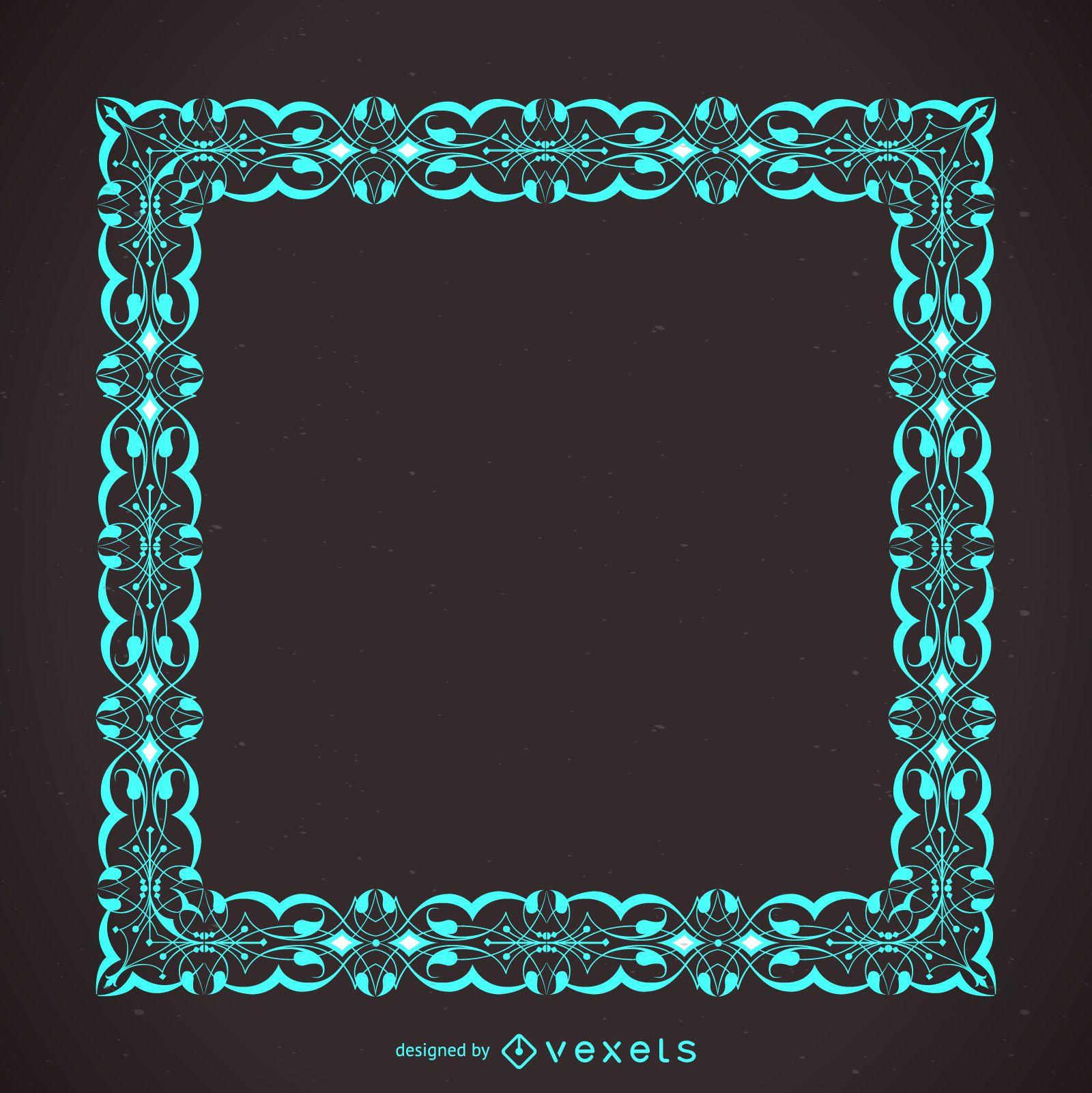 Elegant modern frame