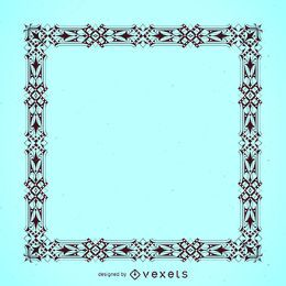 Elegant detailed frame