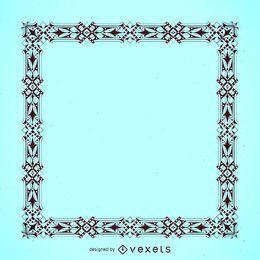 Elegante marco detallado
