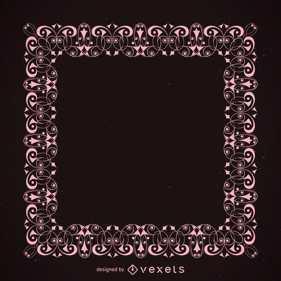 Elegant ornament frame