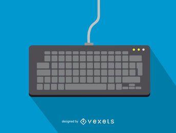 Icono de teclado de computadora