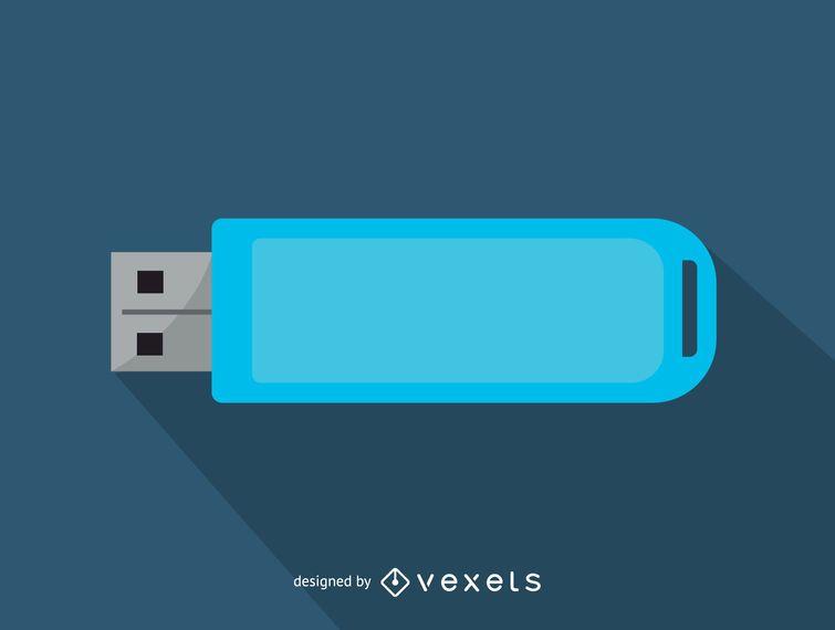 Icono de unidad flash USB