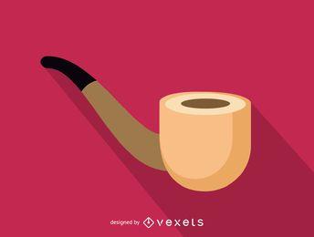 Icono de la pipa de tabaco