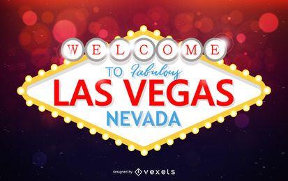 Diseño de señal de Las Vegas