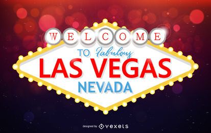 Projeto de marco de placas de Las Vegas