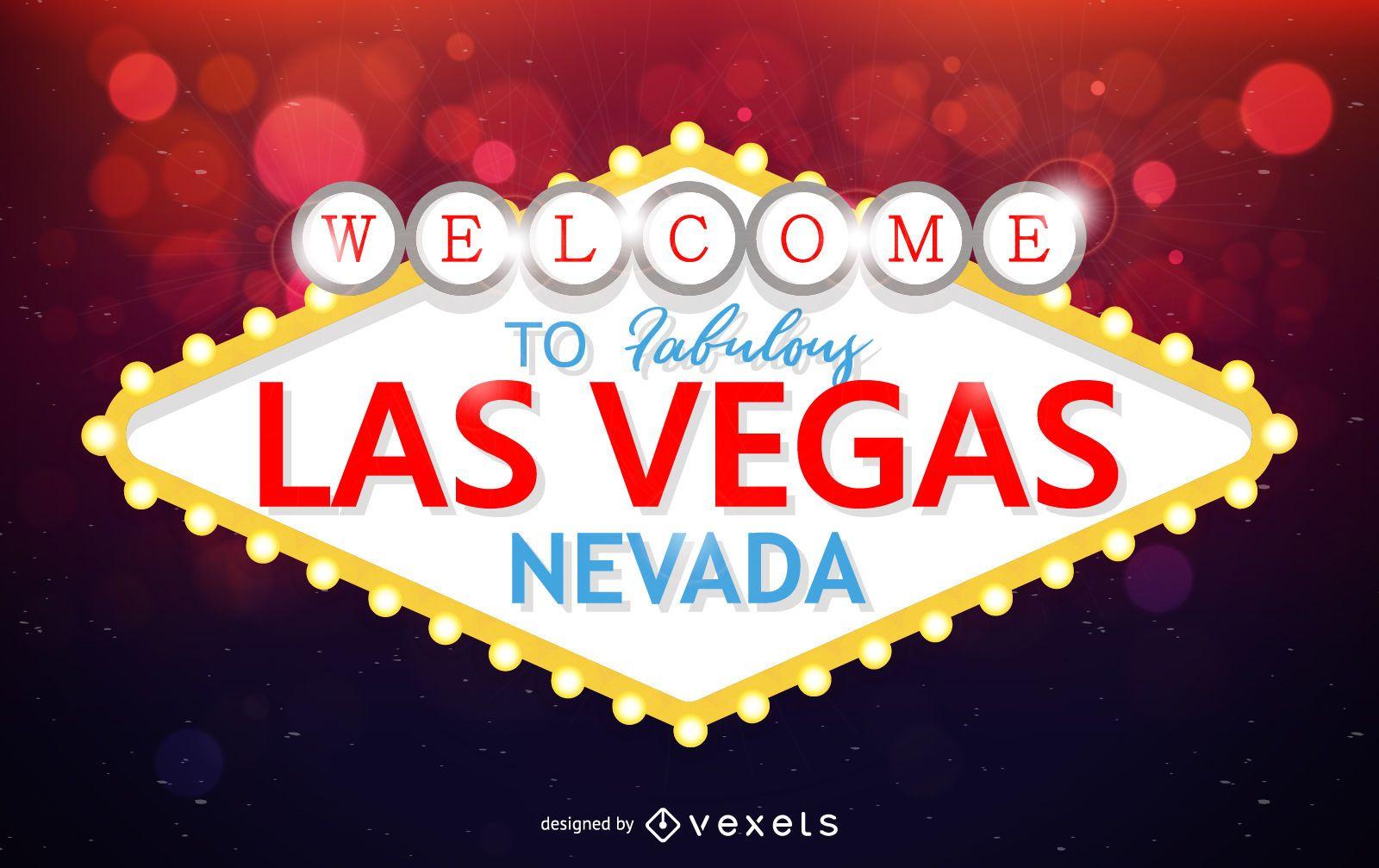 Las Vegas sign landmark design