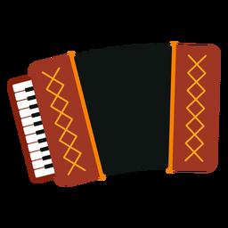 Icono de instrumento musical de acordeón