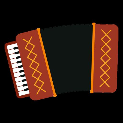 Icono de instrumento musical de acordeón Transparent PNG