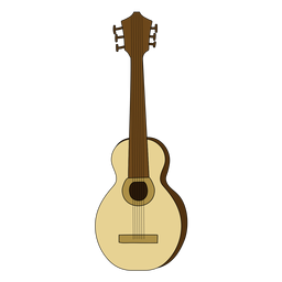Acoustic guitar musical instrument doodle