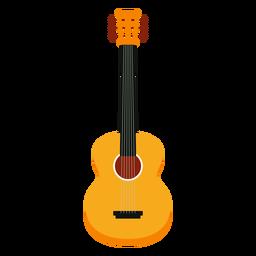 Icono de instrumento musical de guitarra acústica