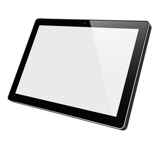 Apple ipad tablet mockup Transparent PNG